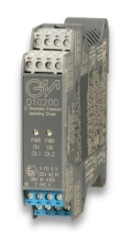 D1020D - SIL 2 Powered Isolating Driver Smart-Hart Compatible