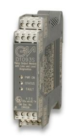 D1093S - SIL 3 Relay Output Module with Line and Load diagnostics